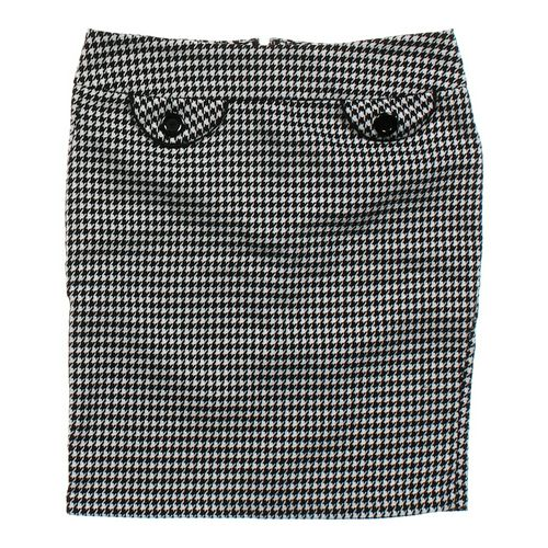 Body Central Houndstooth Skirt in size JR 11 at up to 95% Off - Swap.com