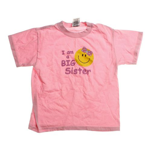"Fruit of the Loom ""I Am a Big Sister"" Tee in size 10 at up to 95% Off - Swap.com"