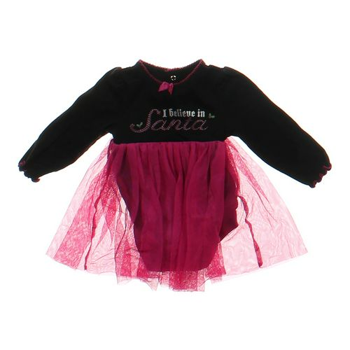 """Baby Glam """"I Believe In Santa"""" Bodysuit in size 9 mo at up to 95% Off - Swap.com"""