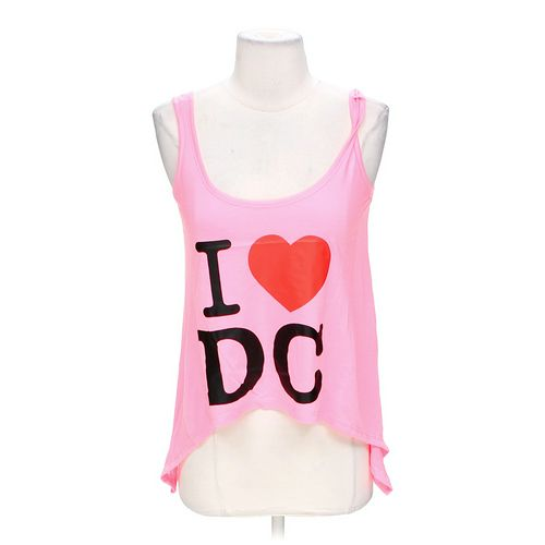 """Popular Sports """"I Love DC"""" Tank in size S at up to 95% Off - Swap.com"""