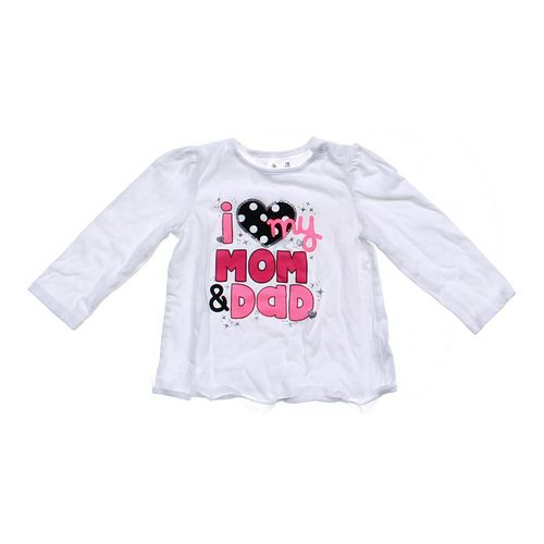 Jumping Beans I Love My Mom & Dad Tee in size 18 mo at up to 95% Off - Swap.com