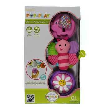 Infantino Pop & Play 3 Count Activity Pods, Girl (Discontinued by Manufacturer) for Sale on Swap.com