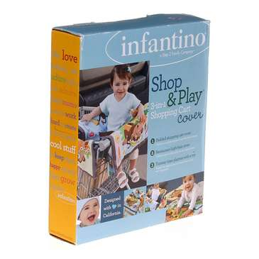 Infantino Shop & Play 3-In-1 Shopping Cart Cover for Sale on Swap.com