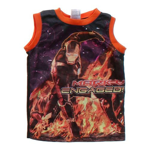 Marvel Iron Man Tank Top in size 4/4T at up to 95% Off - Swap.com