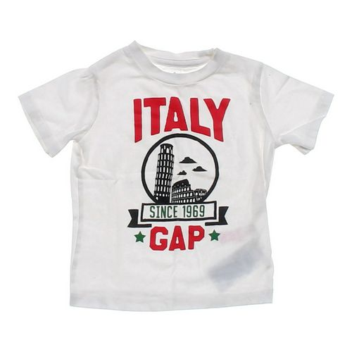 "babyGap ""Italy"" T-shirt in size 18 mo at up to 95% Off - Swap.com"