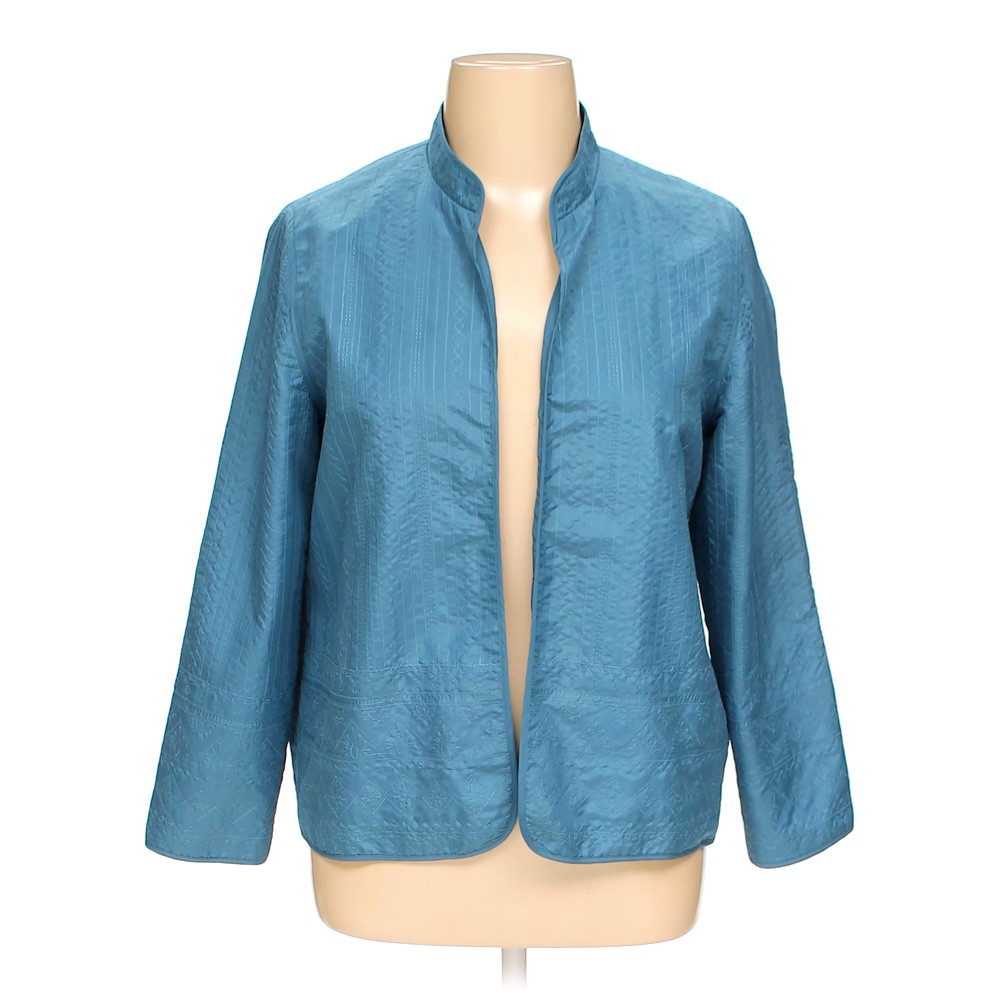 39ea67a0e5 Alfred Dunner Jacket in size 14 at up to 95% Off - Swap.com