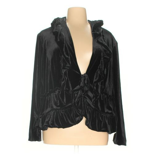 Midnight Velvet Jacket in size 2X at up to 95% Off - Swap.com