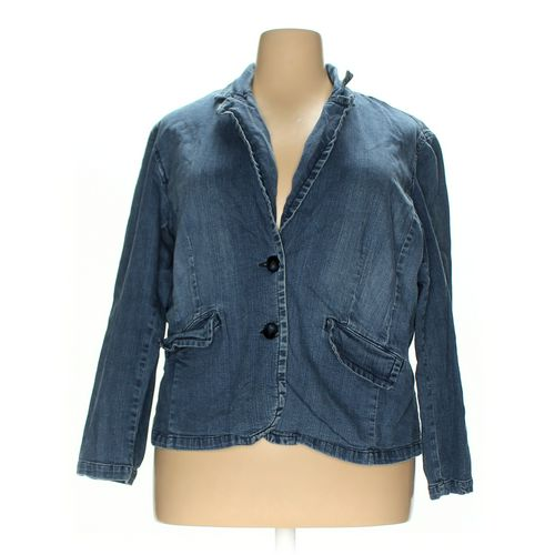 St. John's Bay Jacket in size 2X at up to 95% Off - Swap.com