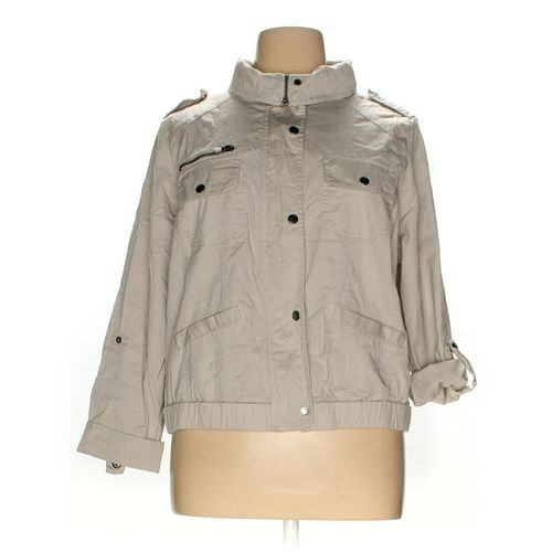 Style & Co Jacket in size 16 at up to 95% Off - Swap.com
