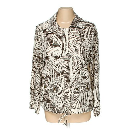 Zenergy by Chico's Jacket in size 8 at up to 95% Off - Swap.com