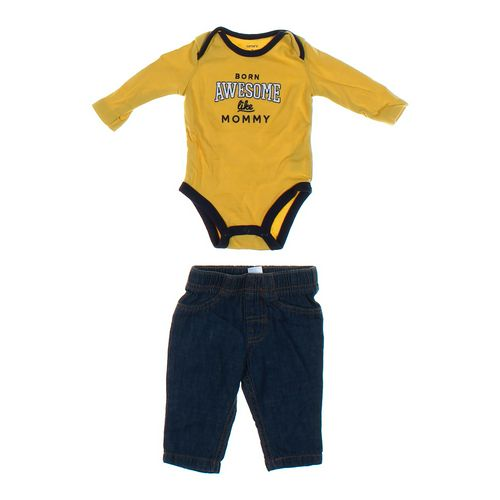 Carter's Jeans & Bodysuit Set in size 3 mo at up to 95% Off - Swap.com