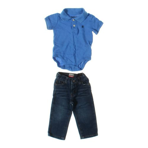Koala Blues Jeans & Bodysuit Set in size 6 mo at up to 95% Off - Swap.com