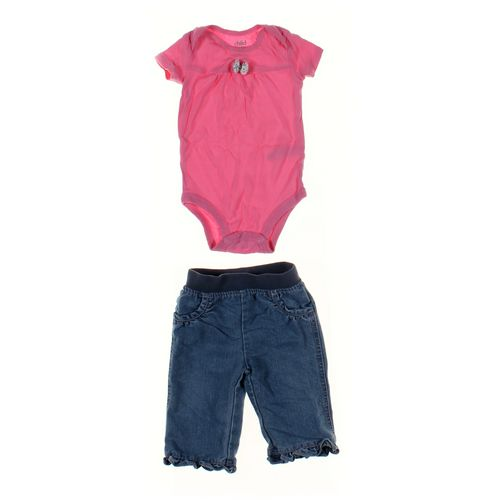 Circo Jeans & Bodysuit Set in size 6 mo at up to 95% Off - Swap.com