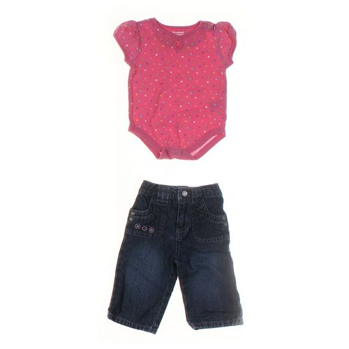Sonoma Jeans & Bodysuit Set in size 3 mo at up to 95% Off - Swap.com