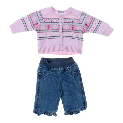 Circo Jeans & Cardigan Set in size 3 mo at up to 95% Off - Swap.com