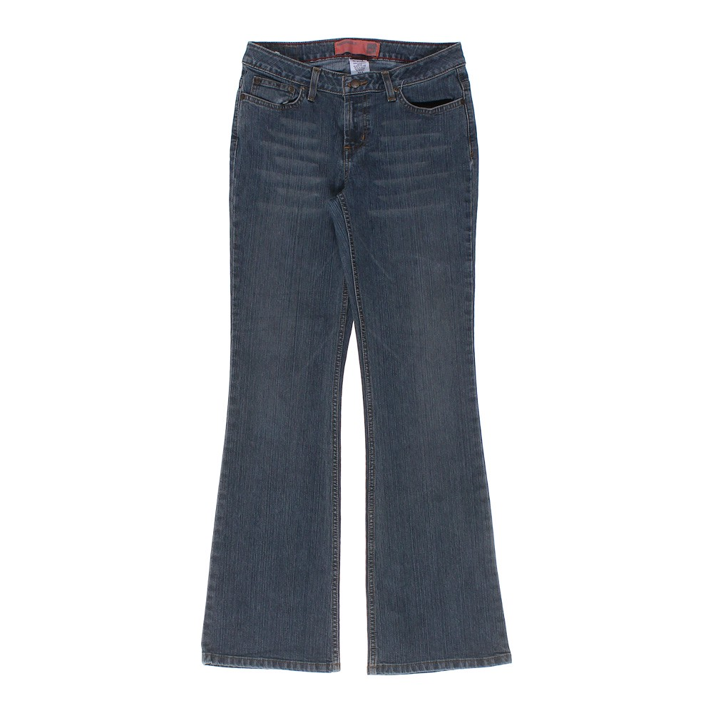 ce1089b89 Mossimo Supply Co. Girls Solid Jeans, Size JR 9, Blue/Navy