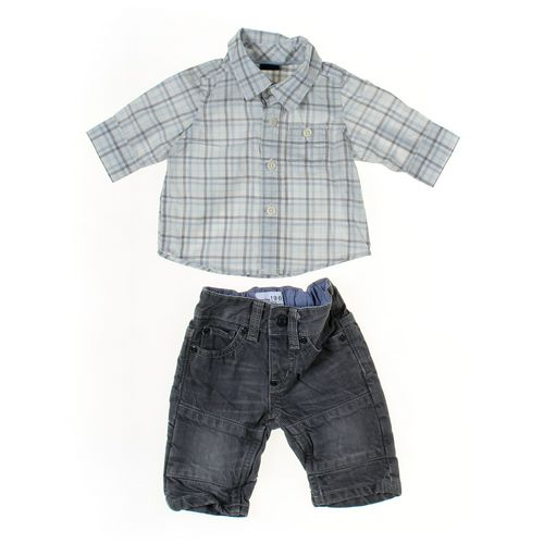 babyGap Jeans & Shirt Set in size NB at up to 95% Off - Swap.com