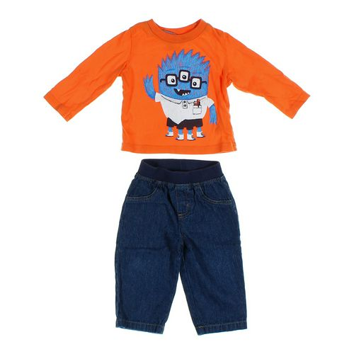 Garanimals Jeans & Shirt Set in size 12 mo at up to 95% Off - Swap.com