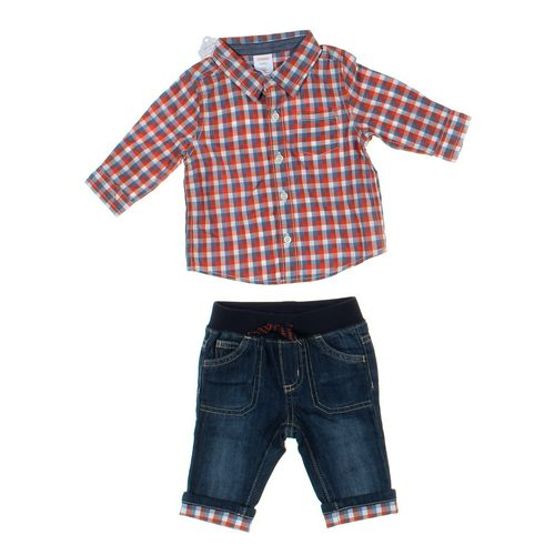 Gymboree Jeans & Shirt Set in size 3 mo at up to 95% Off - Swap.com