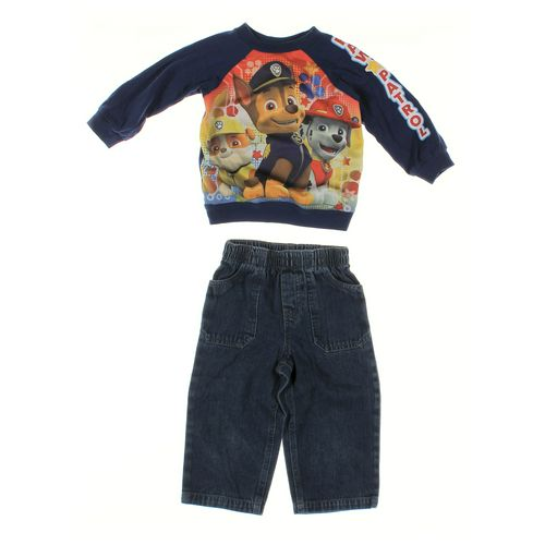 WonderKids Jeans & Shirt Set in size 24 mo at up to 95% Off - Swap.com