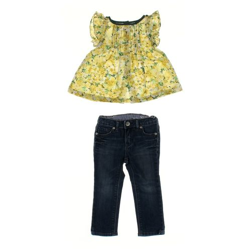 babyGap Jeans & Shirt Set in size 18 mo at up to 95% Off - Swap.com