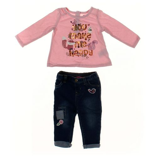 Miniville Jeans & Shirt Set in size 6 mo at up to 95% Off - Swap.com