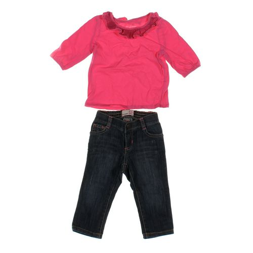Old Navy Jeans & Shirt Set in size 12 mo at up to 95% Off - Swap.com