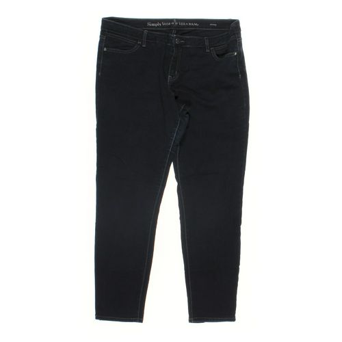 Simply Vera by Vera Wang Jeans in size 16 at up to 95% Off - Swap.com