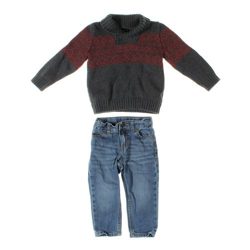 Carter's Jeans & Sweater Set in size 2/2T at up to 95% Off - Swap.com