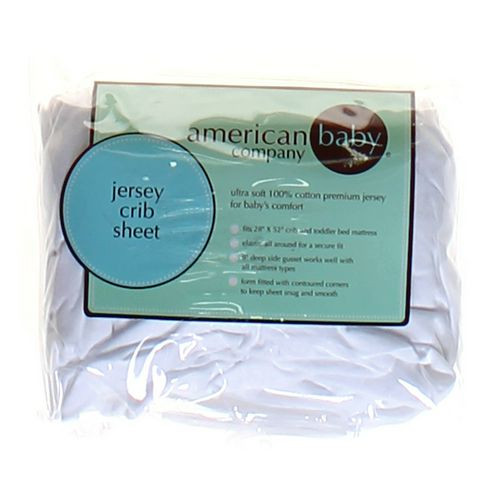 American Baby Company Jersey Crib Sheet at up to 95% Off - Swap.com