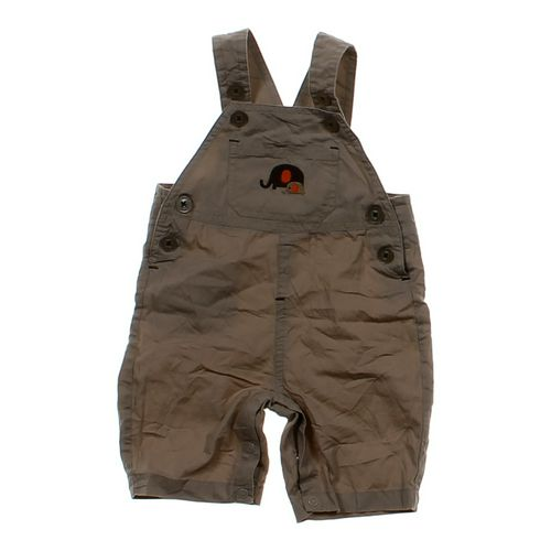 Just One You Khaki Shortalls in size 3 mo at up to 95% Off - Swap.com