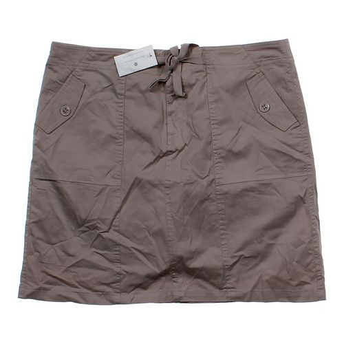 Christopher & Banks Khaki Skirt in size 10 at up to 95% Off - Swap.com