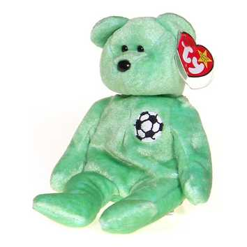 Kicks the Soccer Bear Beanie Baby for Sale on Swap.com
