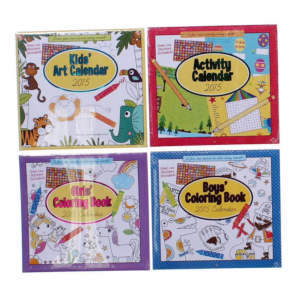 Art Calendar Book : Paper craft kids art calendar set at up to off swap