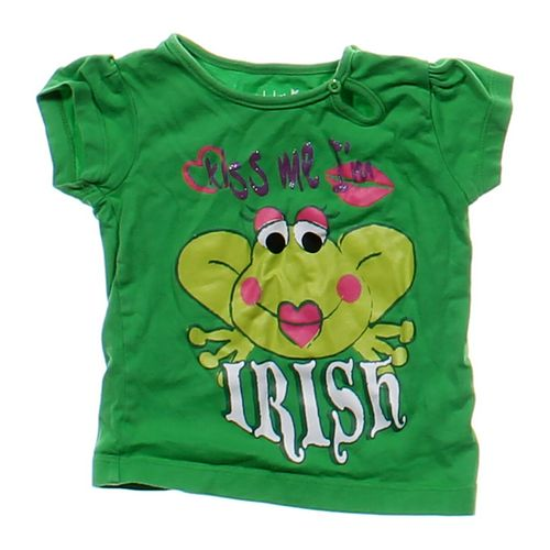 """Kids Korner """"Kiss Me I'm Irish"""" Frog Tee in size 12 mo at up to 95% Off - Swap.com"""
