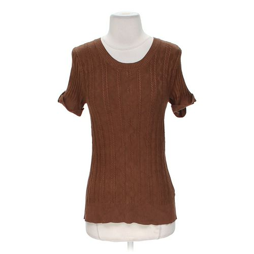 Carolyn Taylor Knit Shirt in size L at up to 95% Off - Swap.com