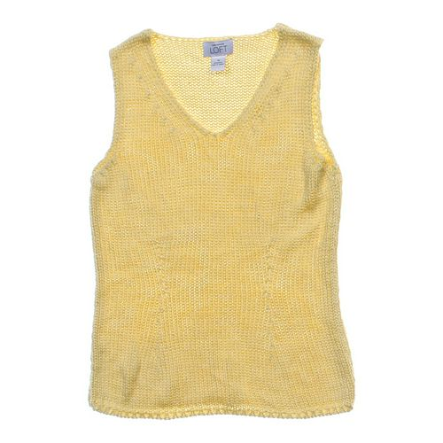 Ann Taylor Loft Knit Tank Top in size M at up to 95% Off - Swap.com