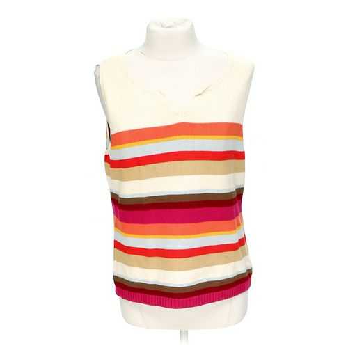 Liz Claiborne Knit Tank Top in size L at up to 95% Off - Swap.com