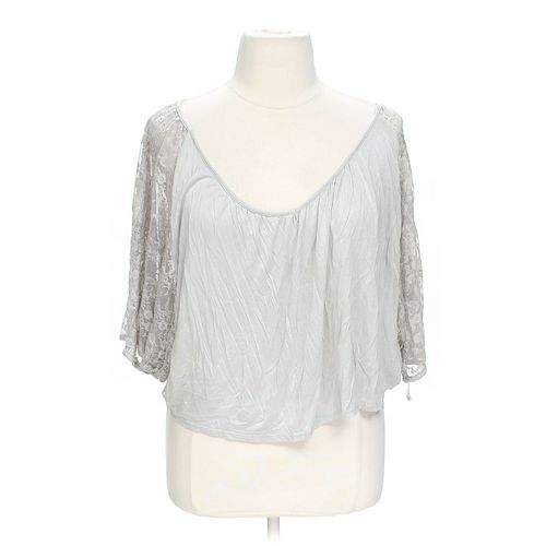 love, Fire Lace Accented Blouse in size L at up to 95% Off - Swap.com