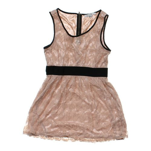 XOXO Lace Accented Dress in size JR 7 at up to 95% Off - Swap.com