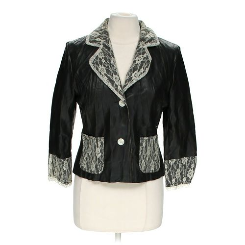 Newport News Lace Accented Jacket in size 10 at up to 95% Off - Swap.com
