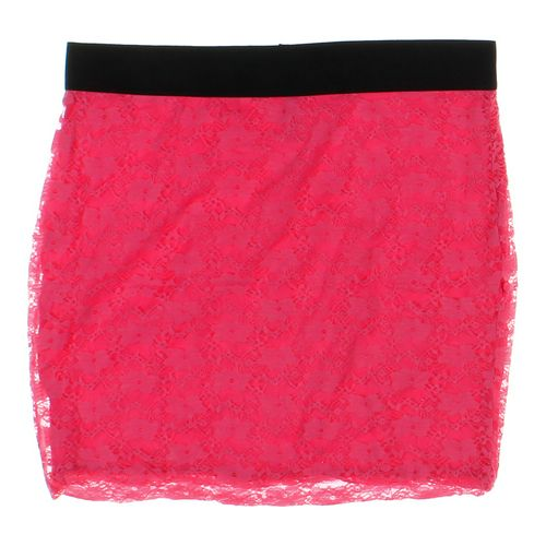 No Boundaries Lace Accented Skirt in size JR 15 at up to 95% Off - Swap.com