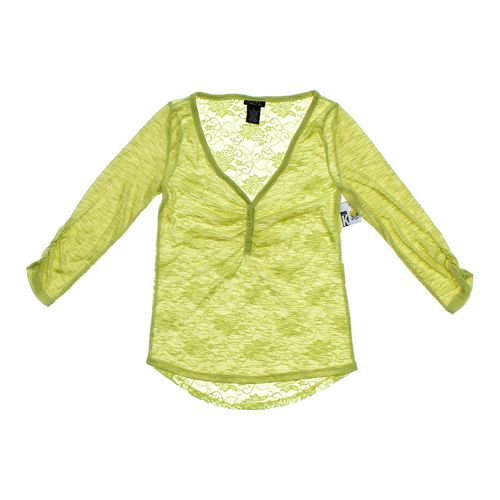 rue21 Lace Back Shirt in size JR 3 at up to 95% Off - Swap.com