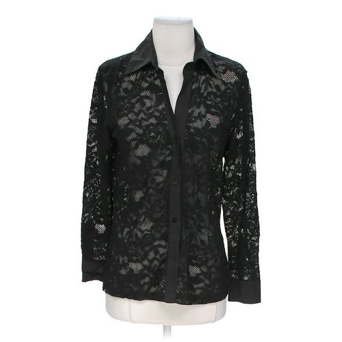 Chico's Lace Button-up Shirt in size 8 at up to 95% Off - Swap.com