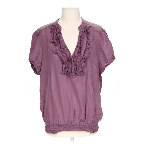 Pure Energy Lace Sheer Shirt in size 2 at up to 95% Off - Swap.com