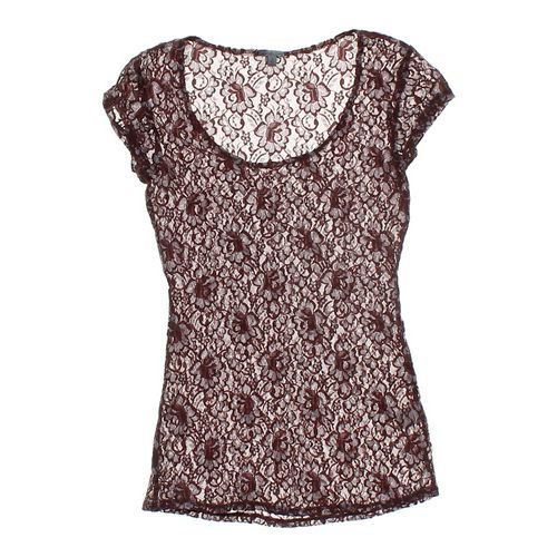 Charlotte Russe Lace Shirt in size JR 3 at up to 95% Off - Swap.com