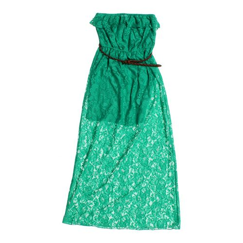 Trixxi Lace Strapless Dress in size JR 7 at up to 95% Off - Swap.com