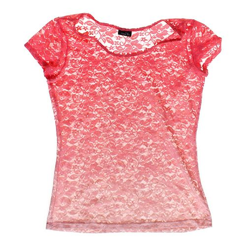 rue21 Lace T-shirt in size JR 11 at up to 95% Off - Swap.com