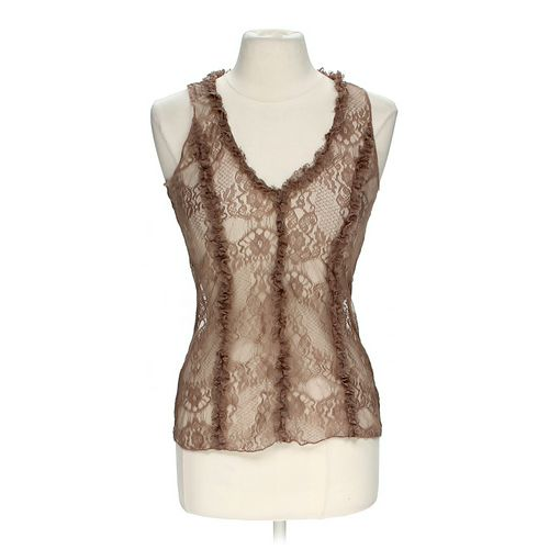 Lily White Lacey Tank Top in size JR 5 at up to 95% Off - Swap.com