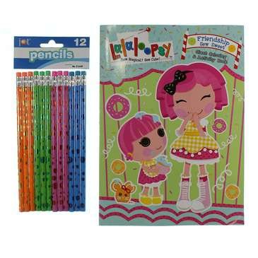 Lalaloopsy Giant Coloring and Activity Book - Sew Much Fun! for Sale on Swap.com